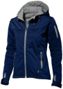 Bunda SLAZENGER LADIES MATCH SOFTSHELL JACKET navy modrá S